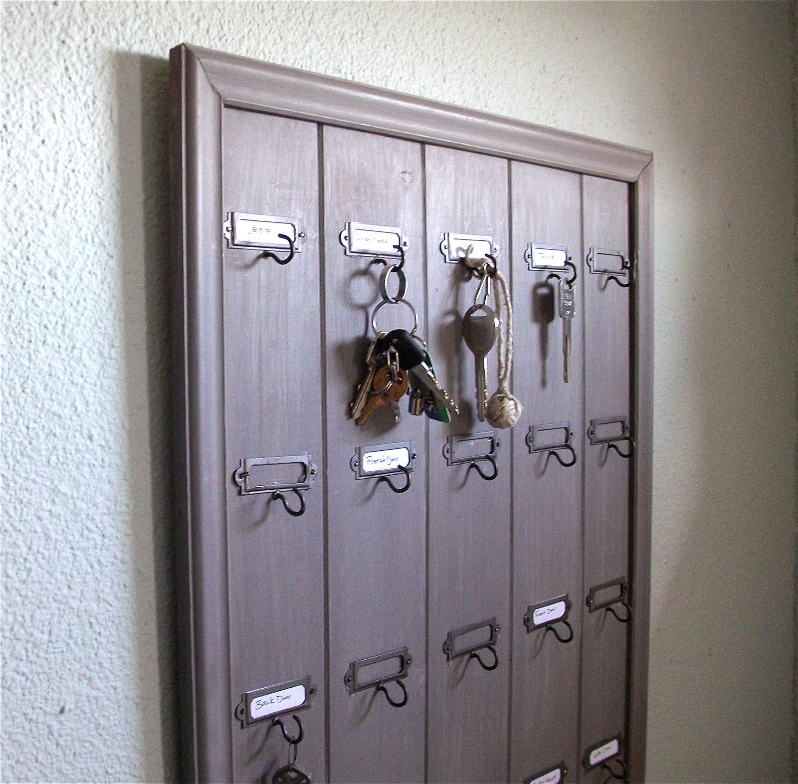 DIY Key Rack  Remodelaholic