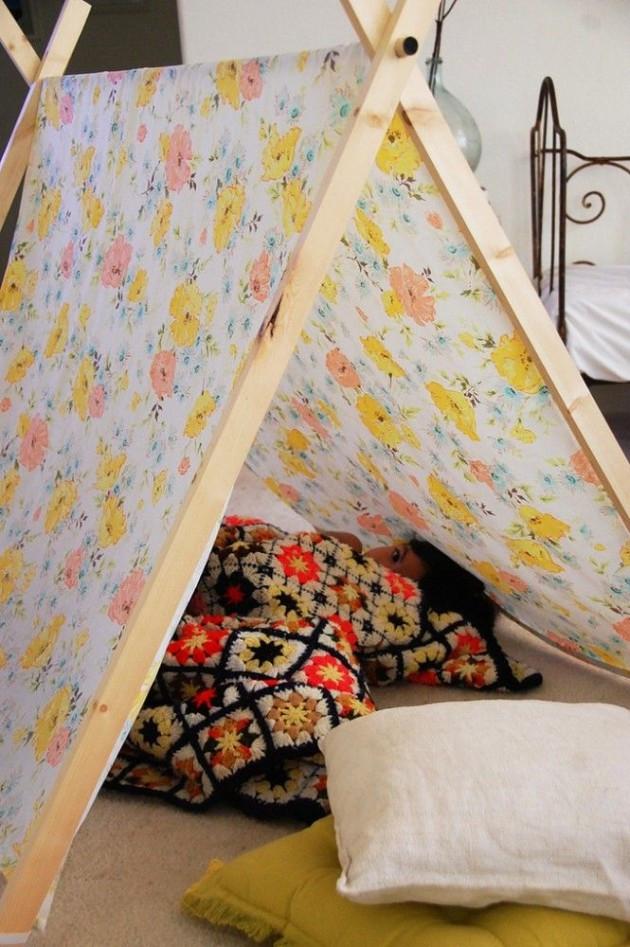 DIY Kids Tent  35 Playful and Fun DIY Tents for Kids
