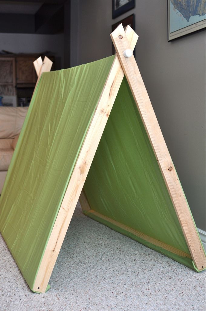 DIY Kids Tent  Diy Childrens Fort WoodWorking Projects & Plans