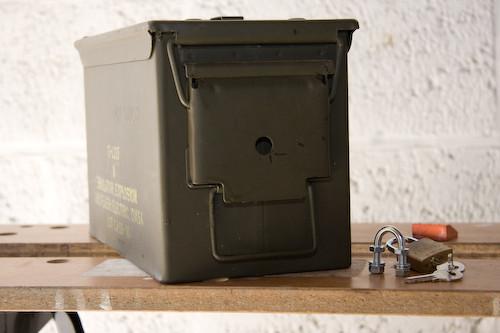 DIY Lock Box  DIY Ammo Box Lock – Golb – ON5IA