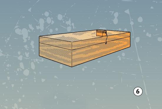 DIY Lock Box  Build a magnetic lock and key for a storage box – Boys