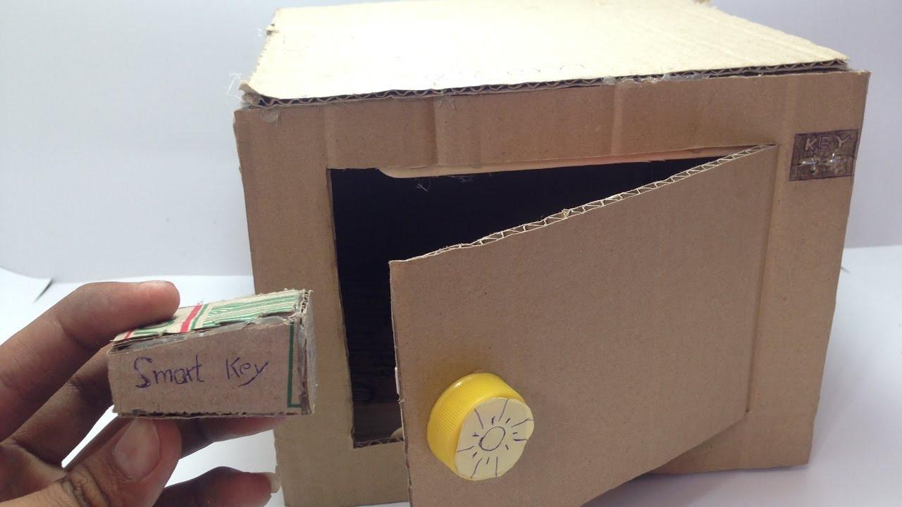 DIY Lock Box  DIY Electronic Safe Safe with bination Lock from