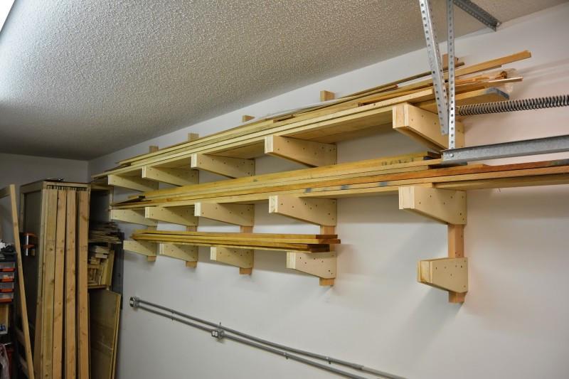 DIY Lumber Rack  10 Clever & Bud Friendly DIY Scrap Wood Storage Ideas