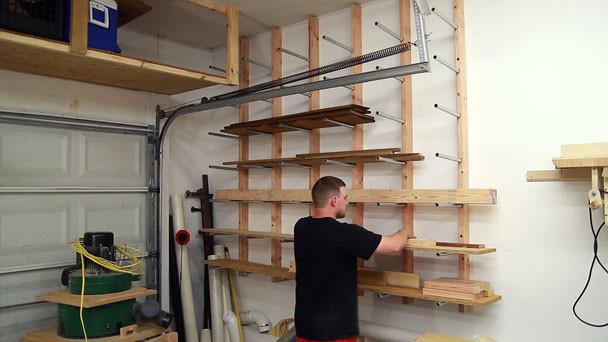 DIY Lumber Rack  Cheap and Easy DIY Lumber Rack The Ugly Duckling House