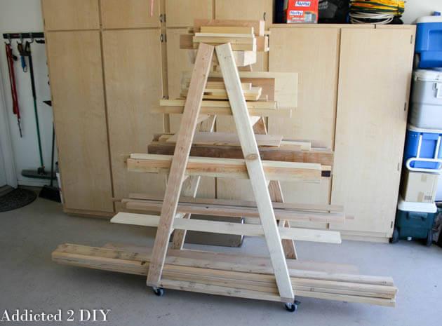 DIY Lumber Rack  Easy Portable Lumber Rack Free DIY Plans  Rogue Engineer