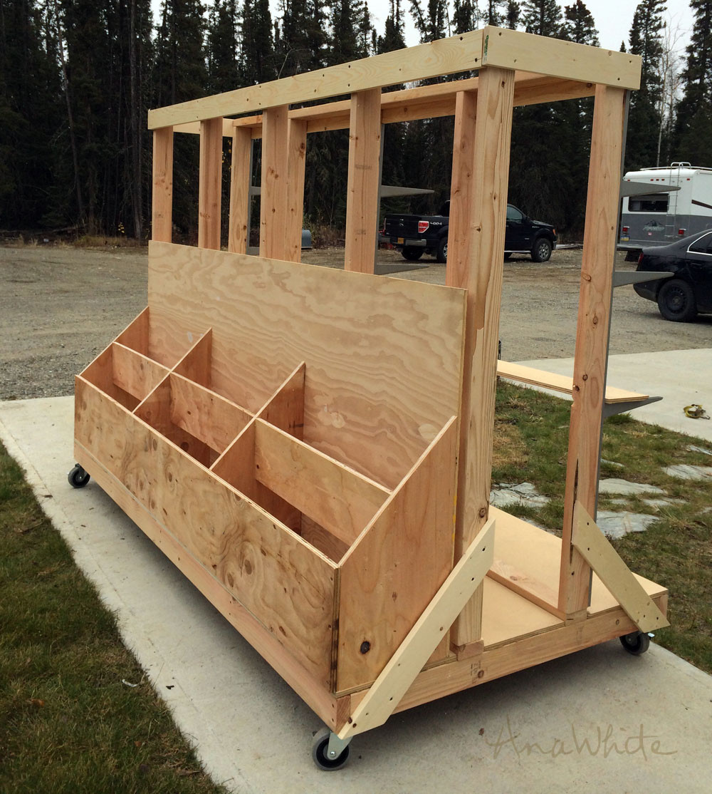 DIY Lumber Rack  20 Scrap Wood Storage Holders You Can DIY Remodelando la