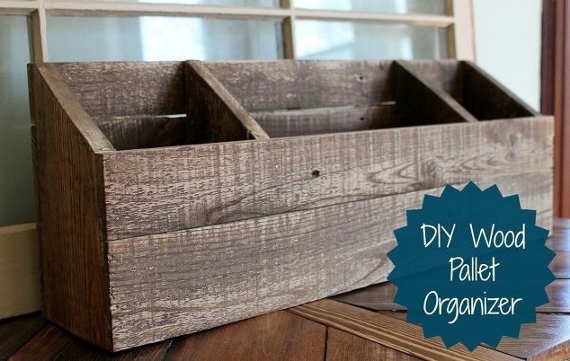DIY Mail Organizer Wood  DIY Wood Desk Organizer Mail Sorter