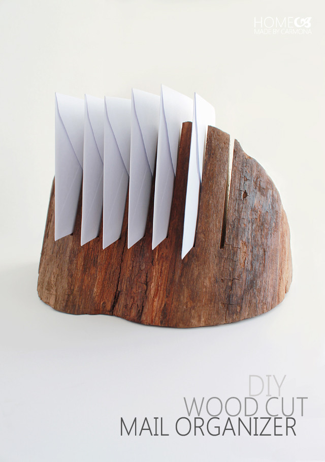 DIY Mail Organizer Wood  Chic And Simple Mail Organizers For The DIYer In Each Us