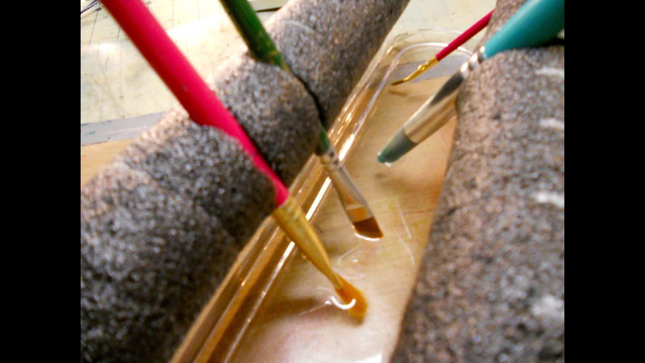 DIY Makeup Brush Drying Rack  Mini Haul and DIY Brush Drying Rack
