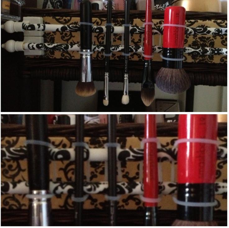 DIY Makeup Brush Drying Rack  8 best brush drying rack a DIY 2do images on Pinterest