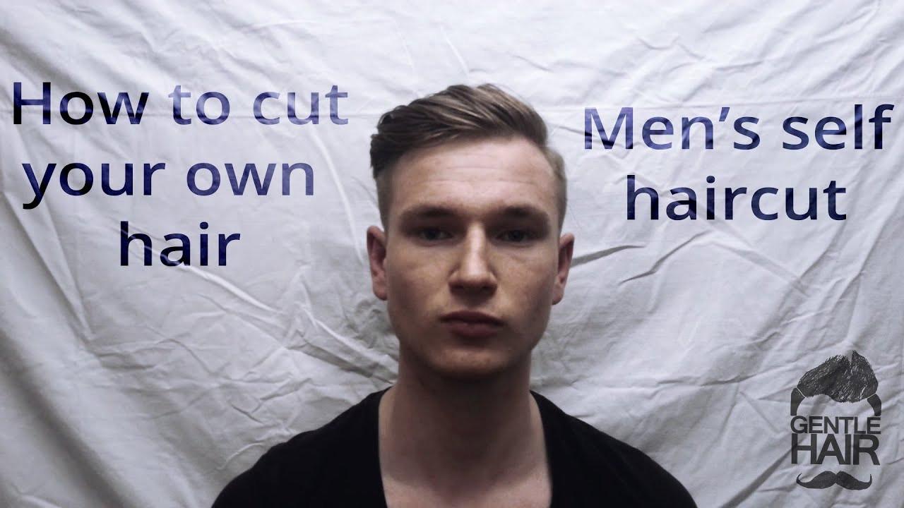 DIY Mens Haircuts  How to cut your own hair Men s self haircut