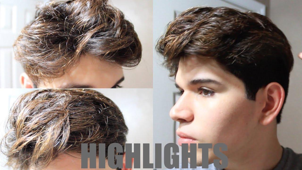 DIY Mens Haircuts  DIY MENS HAIR HIGHLIGHTS