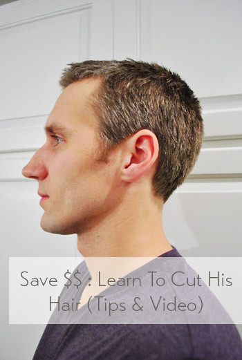 DIY Mens Haircuts  How To Cut Your Man s Hair Tips & Video