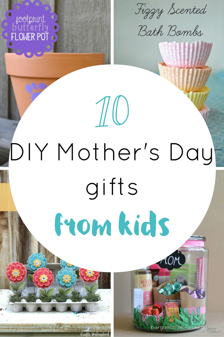 DIY Mother'S Day Gifts From Toddlers  10 DIY Mother s Day ts from kids Bargain Mums