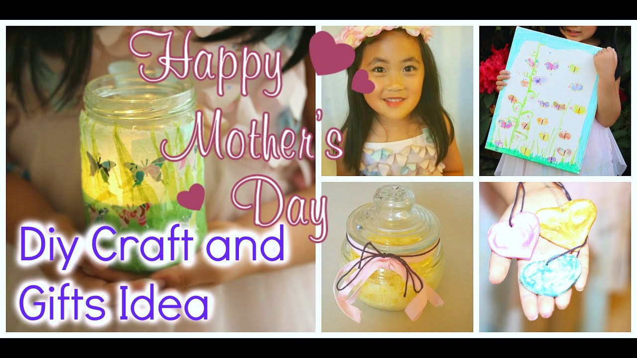 DIY Mother'S Day Gifts From Toddlers  DIY MOTHER S DAY GIFT IDEAS kids friendly craft