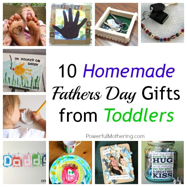 DIY Mother'S Day Gifts From Toddlers  10 Homemade Fathers Day Gifts from Toddlers