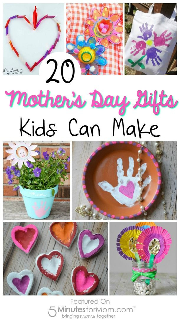 DIY Mother'S Day Gifts From Toddlers  20 Mother s Day Gifts Kids Can Make