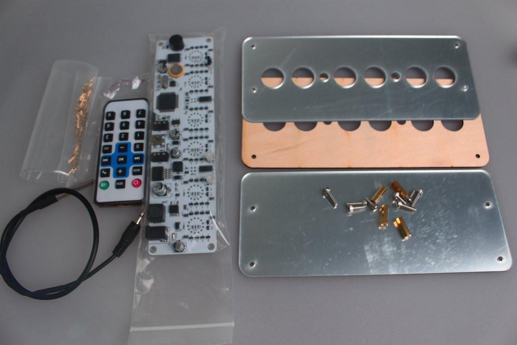 DIY Nixie Tube Clock Kit  Diy Kit NIXT CLOCK IN14 Nixie Tube Clock Kit from NIXT