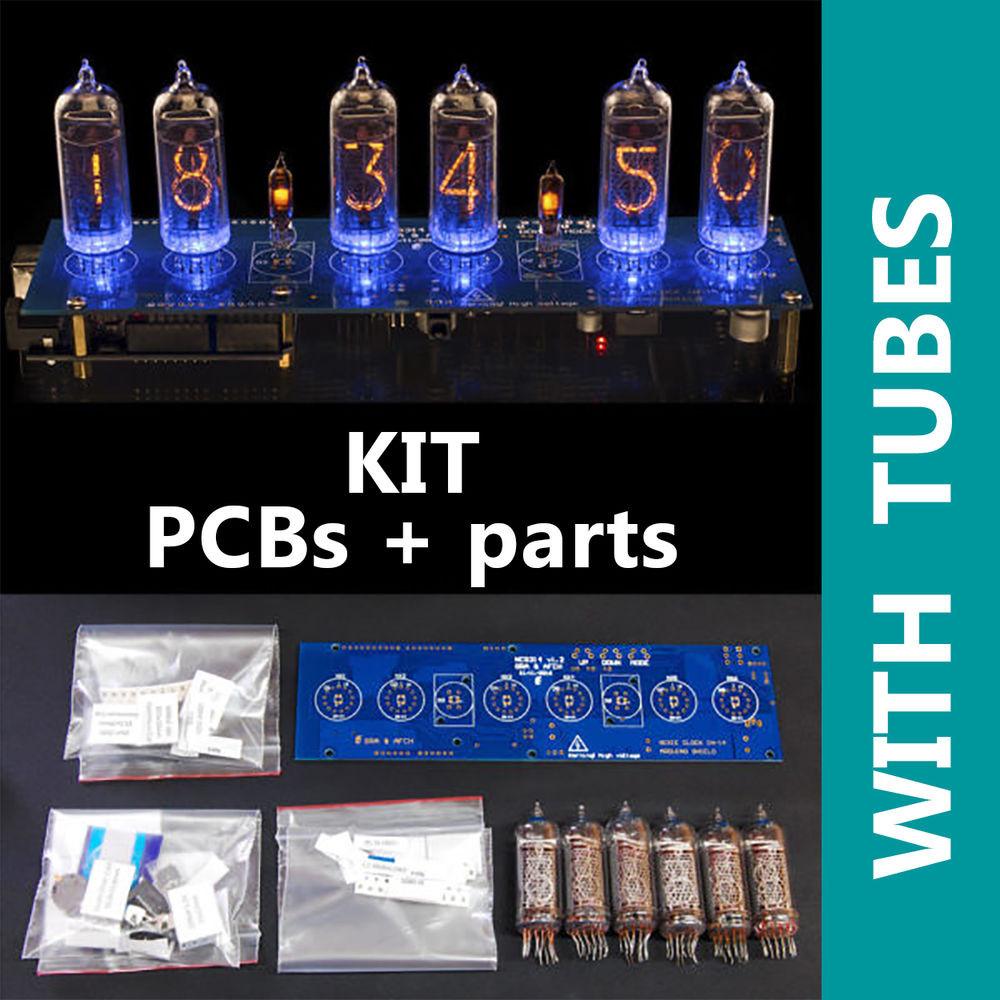 DIY Nixie Tube Clock Kit  DIY kit Nixie Tubes Clock Arduino Shield NCS314 on IN 14