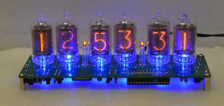DIY Nixie Tube Clock Kit  Nixie Tube Clock Kits Nixie Tube Clock Kits