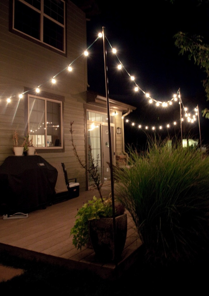 DIY Outdoor Lighting Without Electricity  Bedroom Ideas