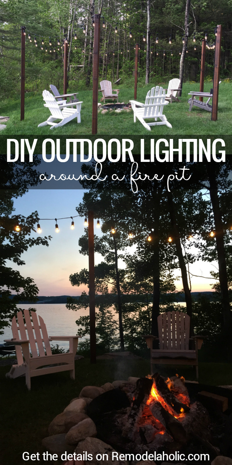 DIY Outdoor Lighting Without Electricity  Remodelaholic