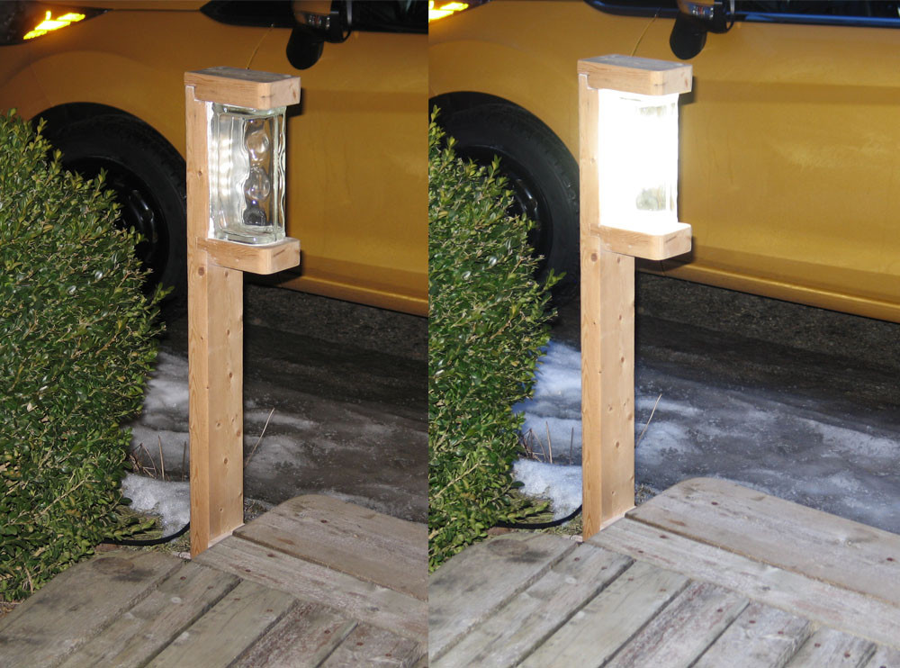 DIY Outdoor Lighting Without Electricity  georgesworkshop a very bright 1 watt diy led garden light
