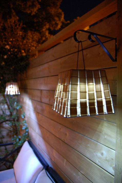 DIY Outdoor Lighting Without Electricity  25 Backyard Lighting Ideas Illuminate Outdoor Area To Make