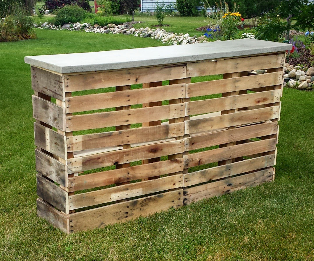 DIY Pallet Bar Plans  Diy Pallet Bar Ideas And Projects