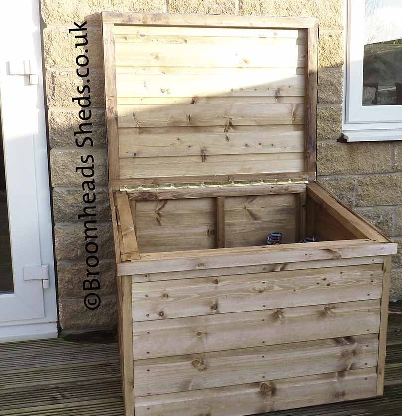DIY Parcel Box  16mm Tanalised Timber wood boot box chest wellies salt