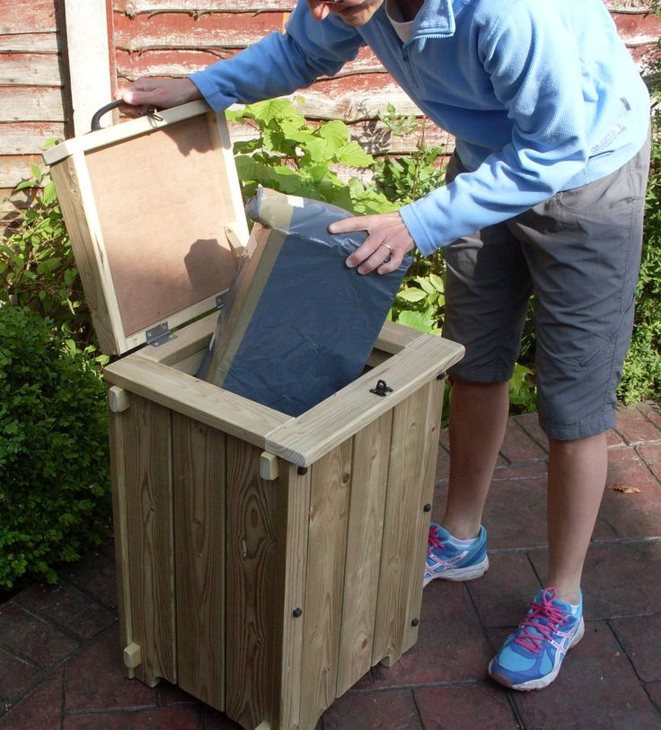 DIY Parcel Box  Parcel drop box for when you are out KH Garden