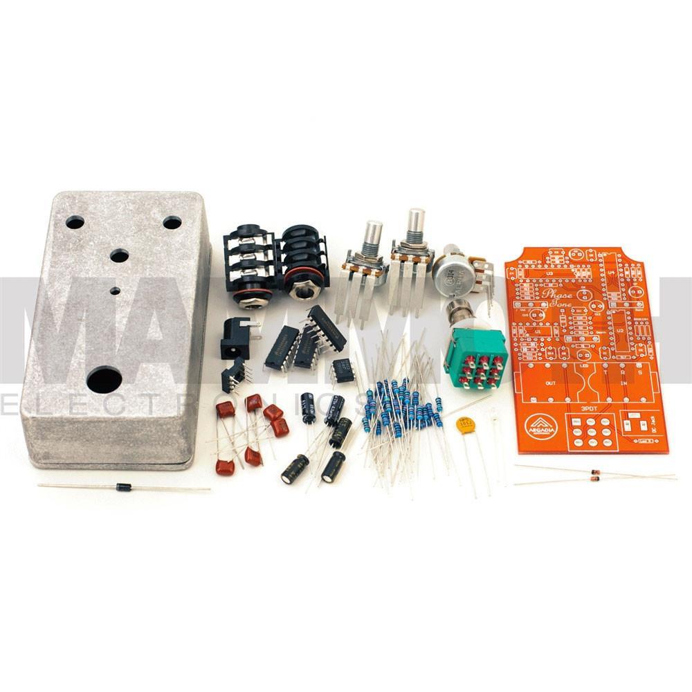 DIY Pedals Kits  DIY Phaser Pedal Kit Arcadia Electronics – Mammoth