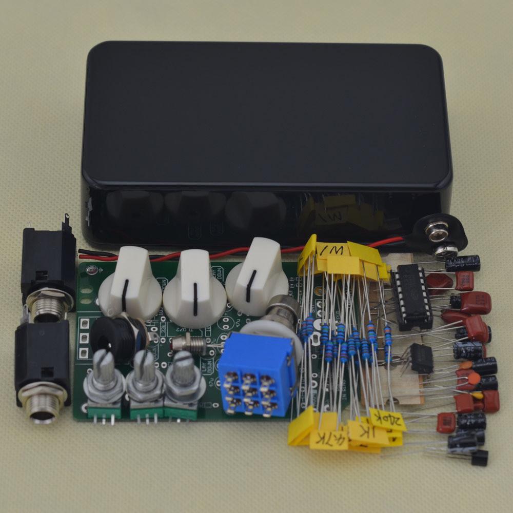 DIY Pedals Kits  Aliexpress Buy DIY Delay pedal Guitar Effect black