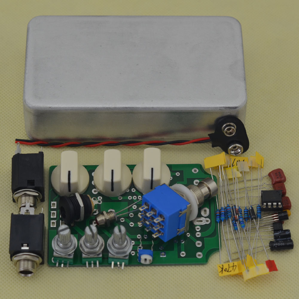 DIY Pedals Kits  DIY Overdrive Guitar Effect Pedal True Bypass Electric