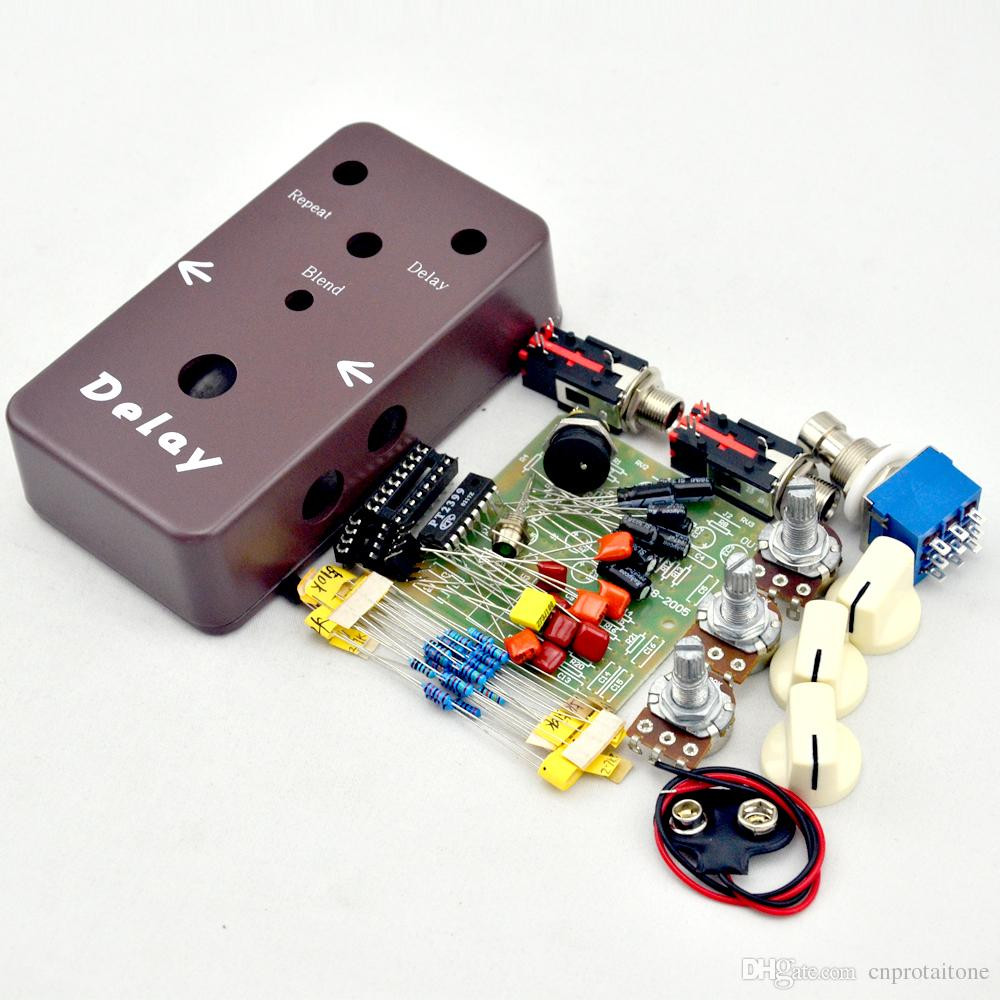 DIY Pedals Kits  DIY Delay Pedal Kit Make Your Own Effect Pedals Kits And