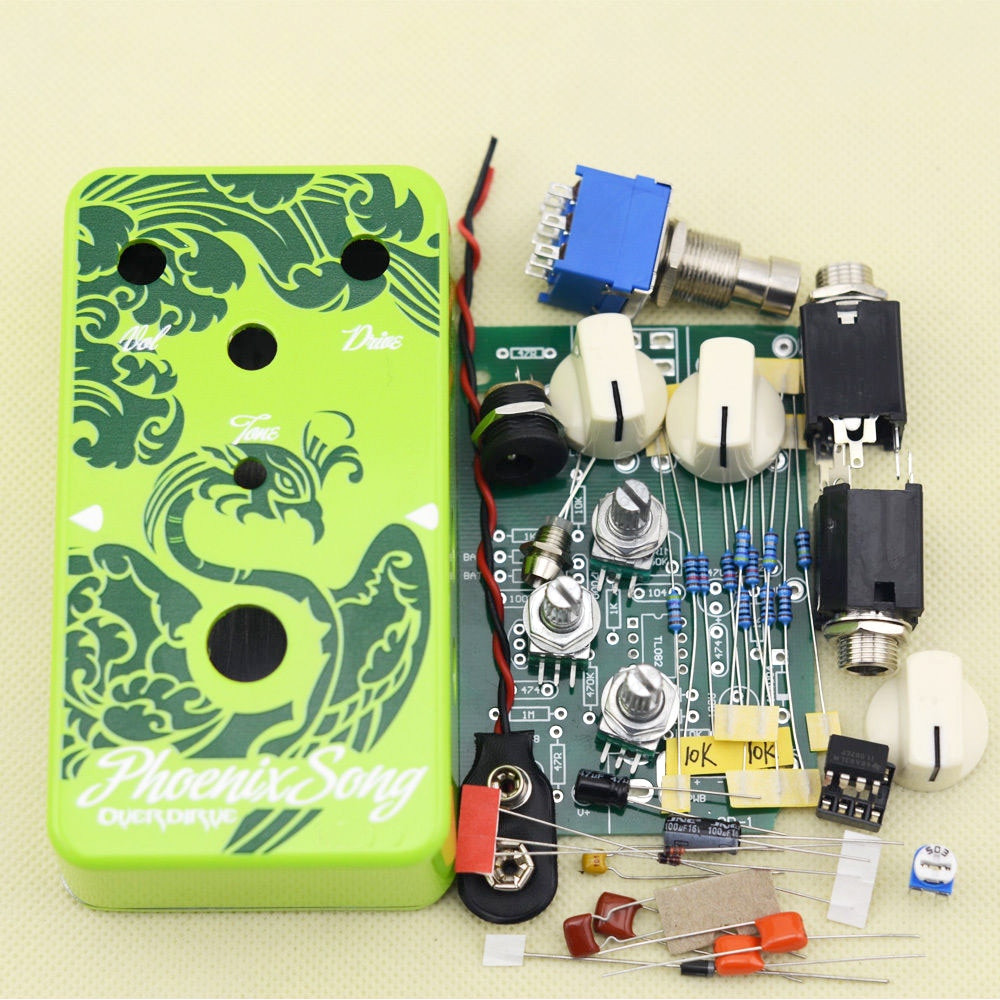 DIY Pedals Kits  DIY Overdrive Guitar Effect Pedal True Bypass with 1590B