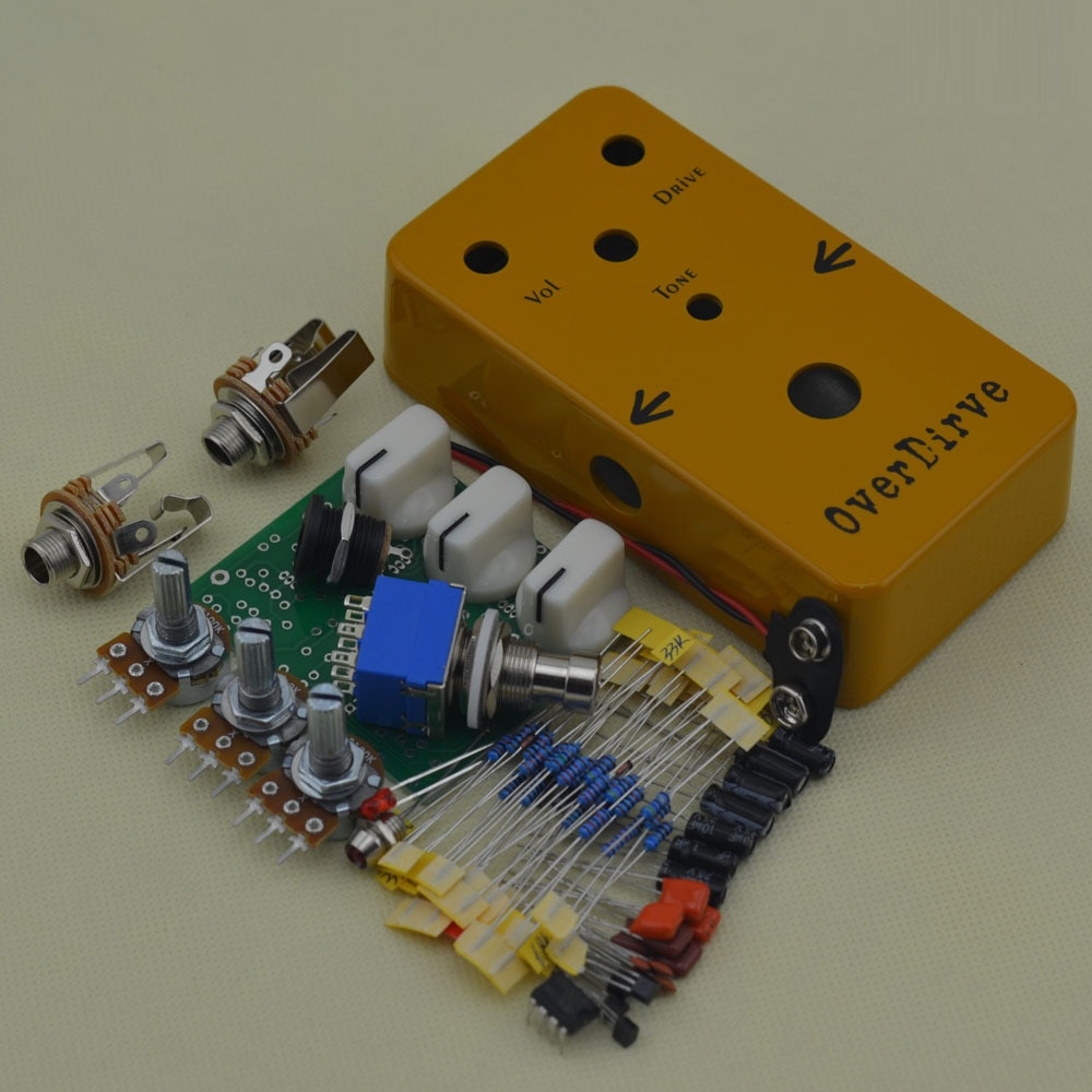 DIY Pedals Kits  Aliexpress Buy DIY Overdrive pedal All Kits With