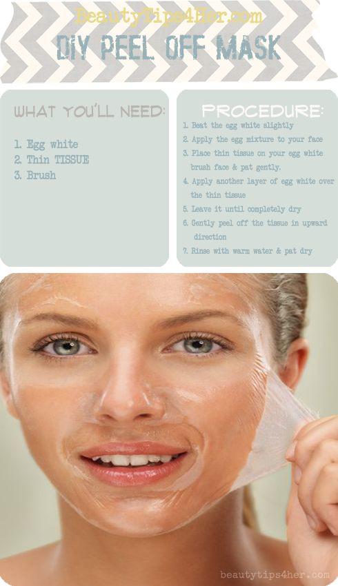 DIY Peel Mask  57 best images about diy face masks on Pinterest