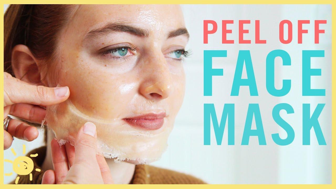 DIY Peel Mask  DIY