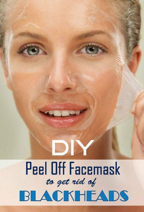 DIY Peel Mask  DIY Peel off Mask to Get Rid of Blackheads