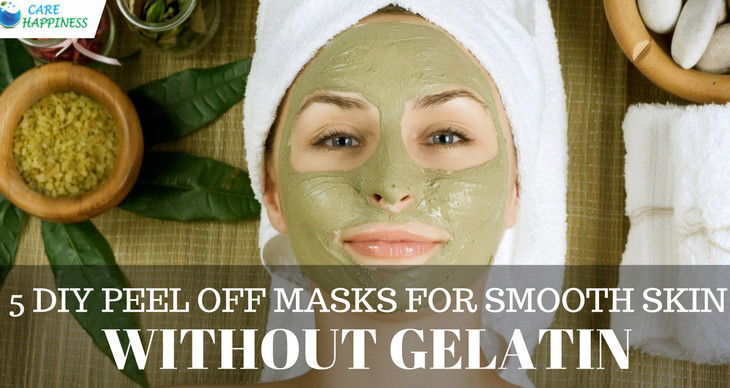 DIY Peel Off Face Mask Without Gelatin  5 Best DIY Peel off Masks for Smooth Skin without Gelatin