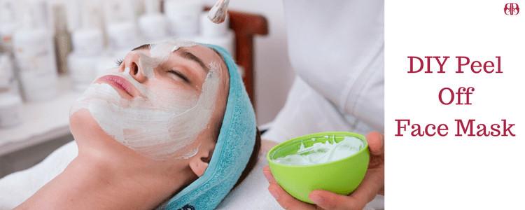 DIY Peel Off Face Mask Without Gelatin  DIY Peel off face mask for facial with or without gelatin