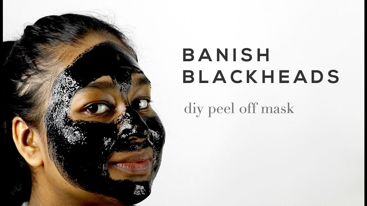 DIY Peel Off Face Mask Without Gelatin  diy peel off face mask without charcoal or gelatin
