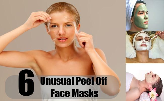 DIY Peel Off Face Masks  6 Unusual Peel f Face Masks Homemade Peel f Face