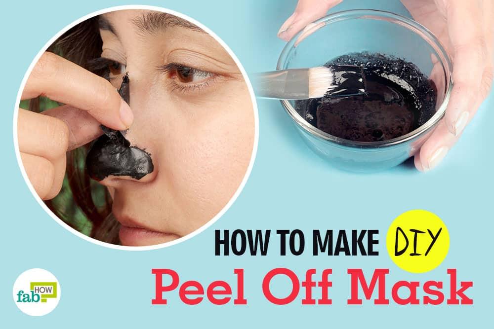 DIY Peel Off Face Masks  5 Best DIY Peel f Facial Masks to Deep Clean Pores and