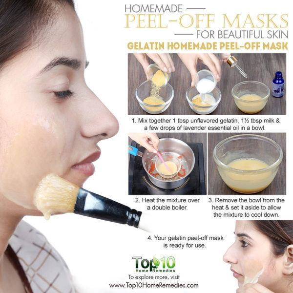 DIY Peel Off Face Masks  Homemade Peel f Masks for Glowing Spotless Skin