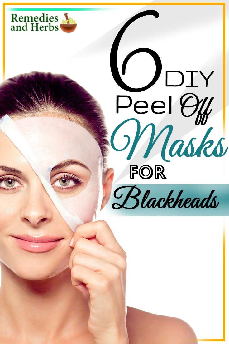 DIY Peel Off Face Masks  6 DIY Peel f Masks For Blackheads