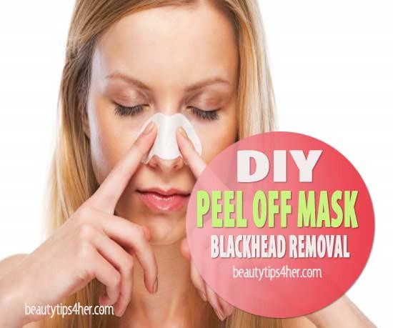 DIY Peel Off Face Masks  DIY Peel f Mask Blackhead Removal to Deep Clean Pores