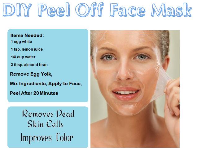 DIY Peel Off Face Masks  DIY Beauty Recipes Reme s & Foods