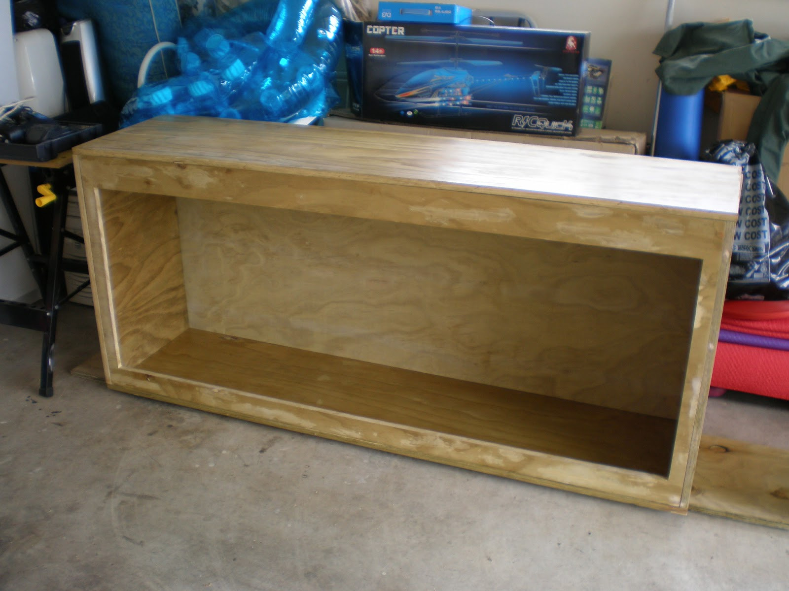 DIY Plywood Aquarium  DIY Plywood Aquarium